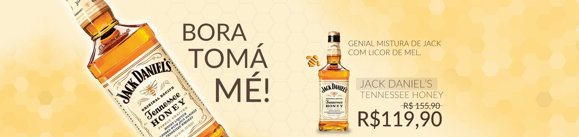 Compre Whisky Jack Daniels Honey na Boxd