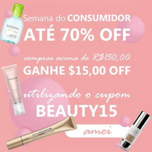 Semana do consumidor  - Outlet