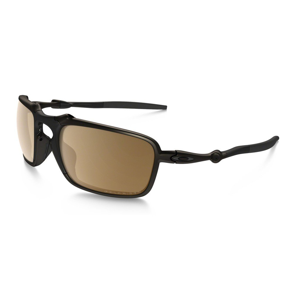 Oakley Badman OO602002 6021 - Pewter/Tungsten Iridium Polarized,OAKLEY