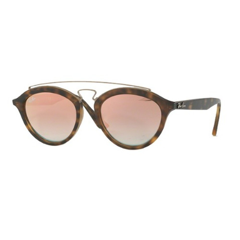 Ray-Ban RB4257 6267B9 53 New Gatsby - Matte Havana/Mirror Gradient Copper,Ray-Ban