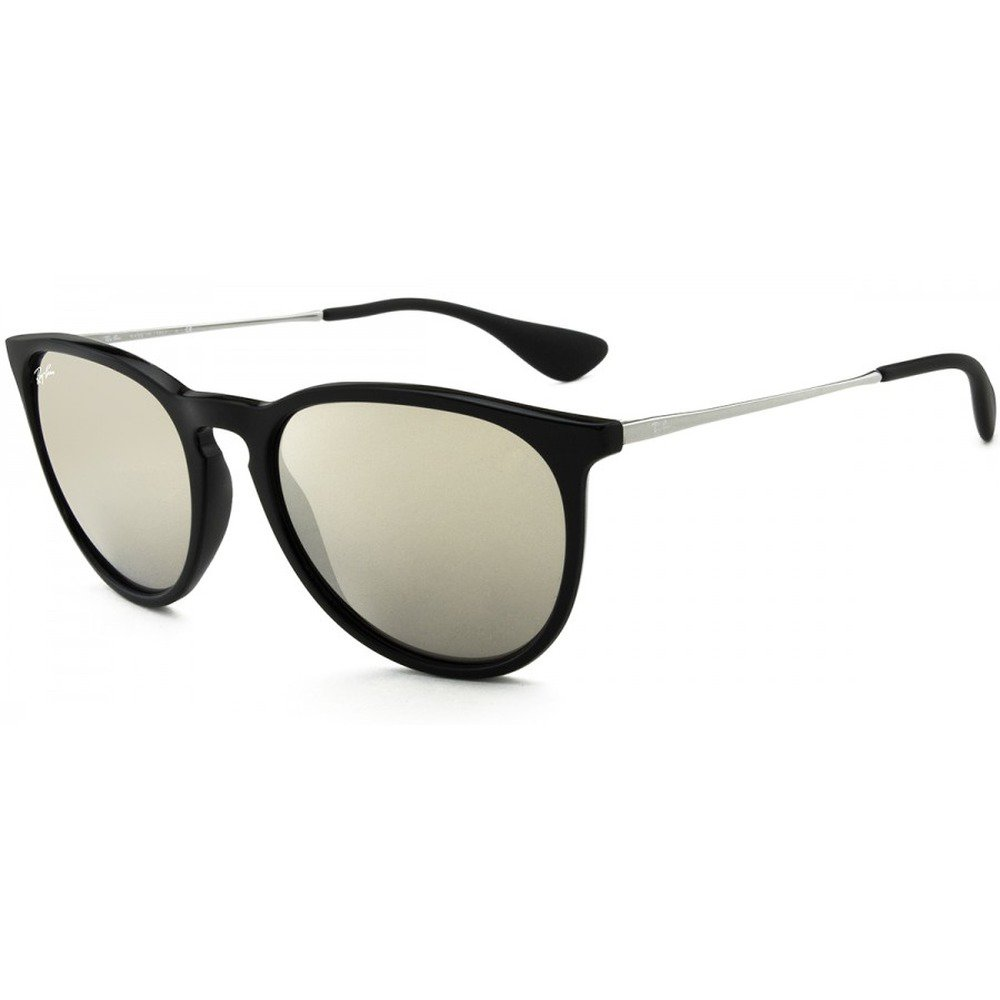 Ray-Ban RB4171L 601/5A 54 Erika - Polished Black/Light Gold Espelhado,Ray-Ban