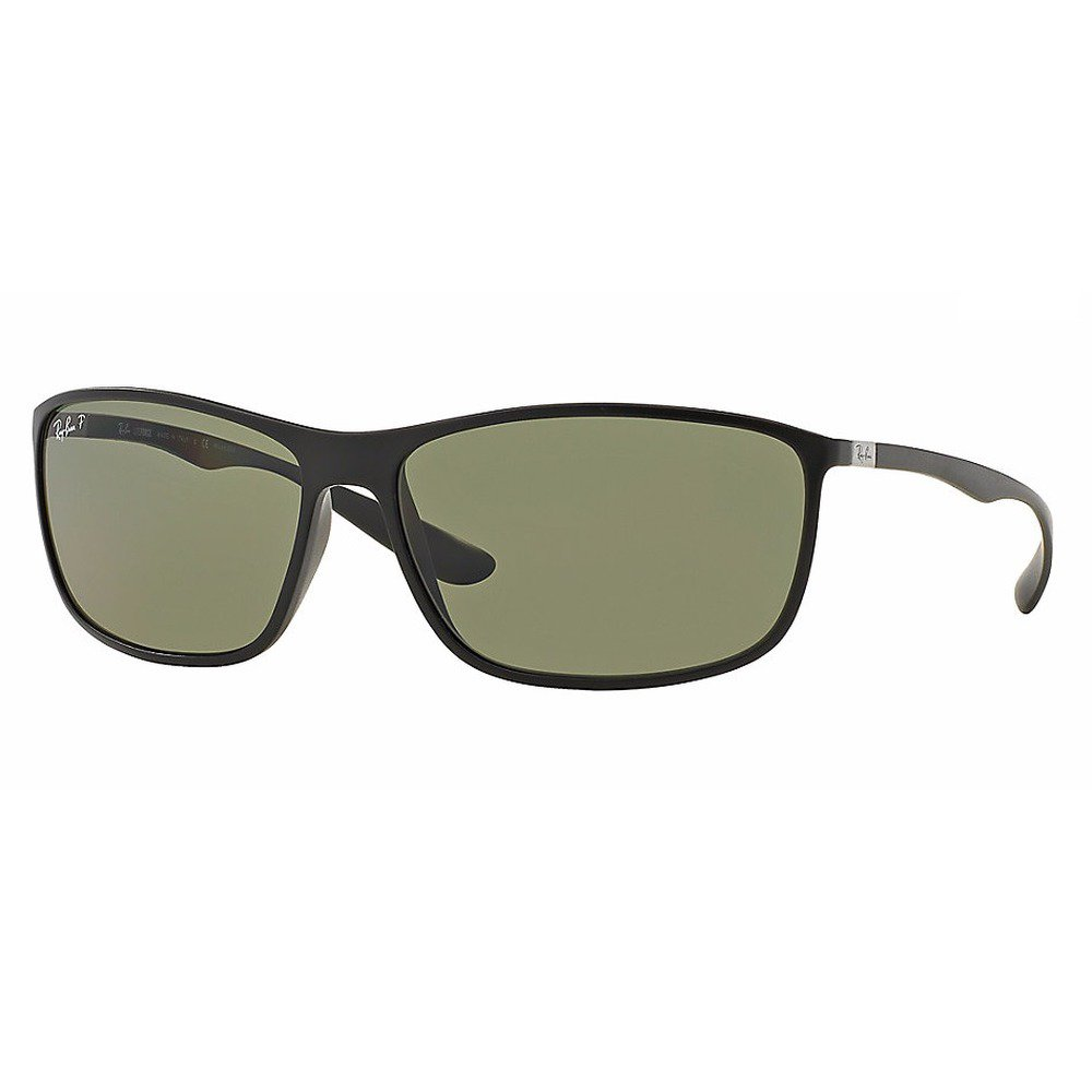 Ray-Ban RB4231 601S9A 65 Tech - Matte Black/Green Polarized,Ray-Ban