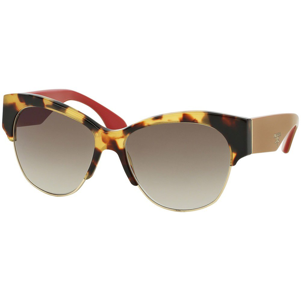 Prada PR11RS 7S00A7 56 - Medium Havana/Grey Gradient,PRADA