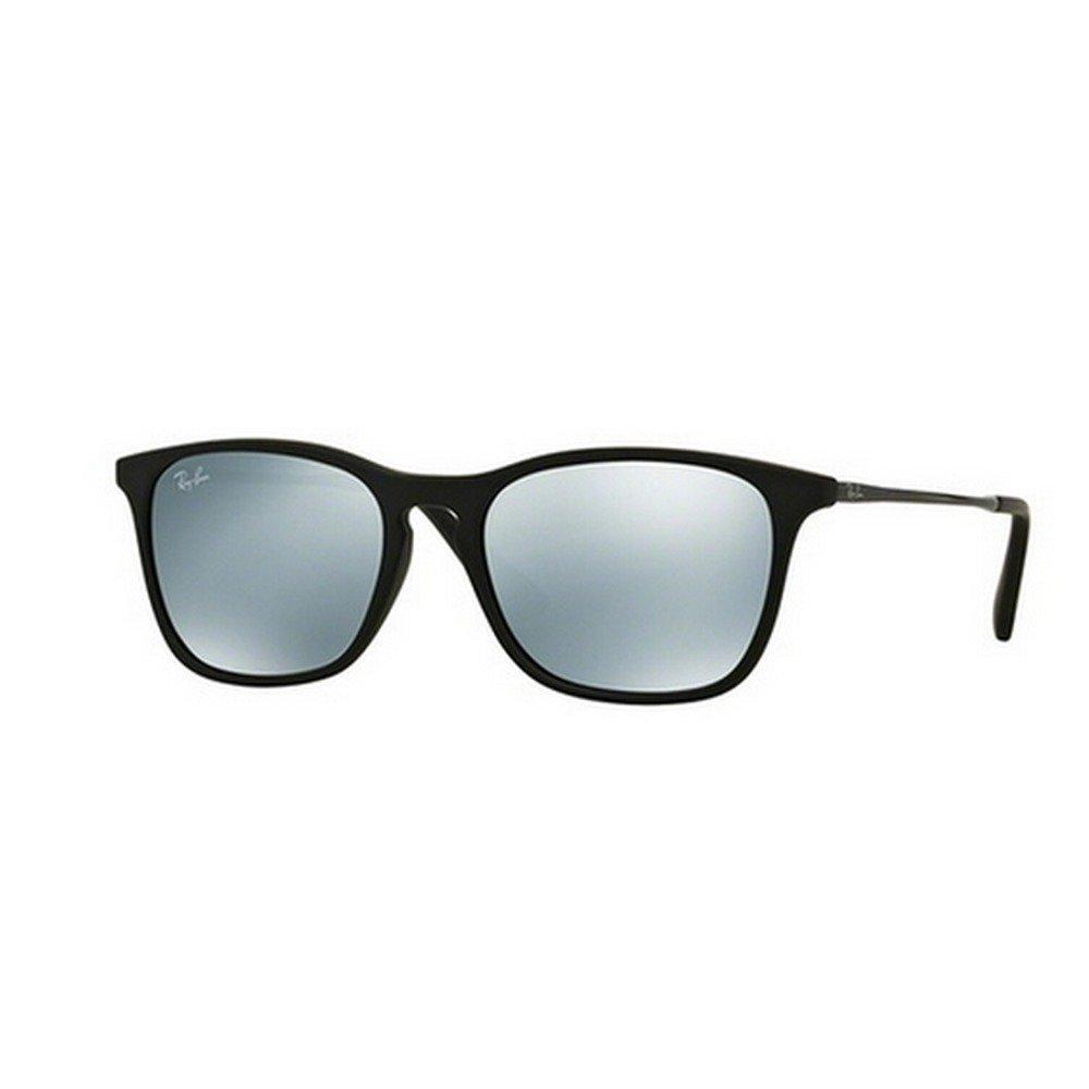 Ray-Ban Junior RJ9061S 700530 49 Chris - Rubber Black/Green Mirror Silver,Ray-Ban