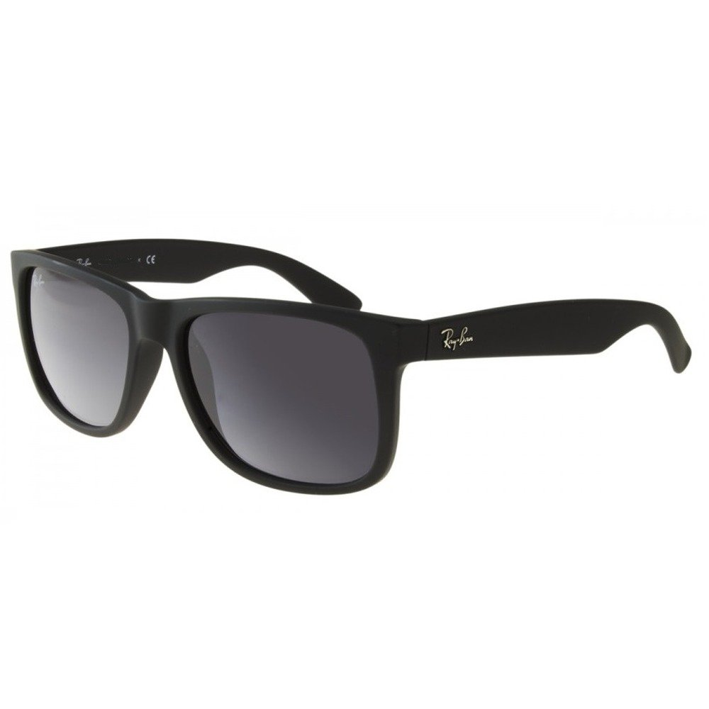 Ray-Ban RB4165L 601/8G 55 Justin - Matte Black/Gray Gradient,Ray-Ban