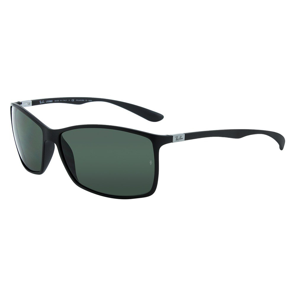 Ray-Ban RB4179 601S9A 62 Liteforce Tech - Preto Fosco/Cinza Polarizado,Ray-Ban