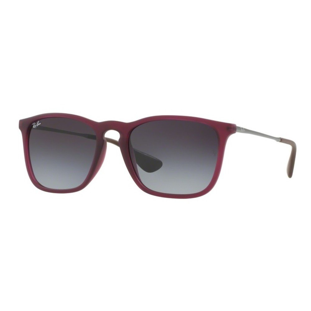 Ray-Ban RB4187L 62168G 54 Chris - Rubber Burgundy/Light Gray Gradient,Ray-Ban