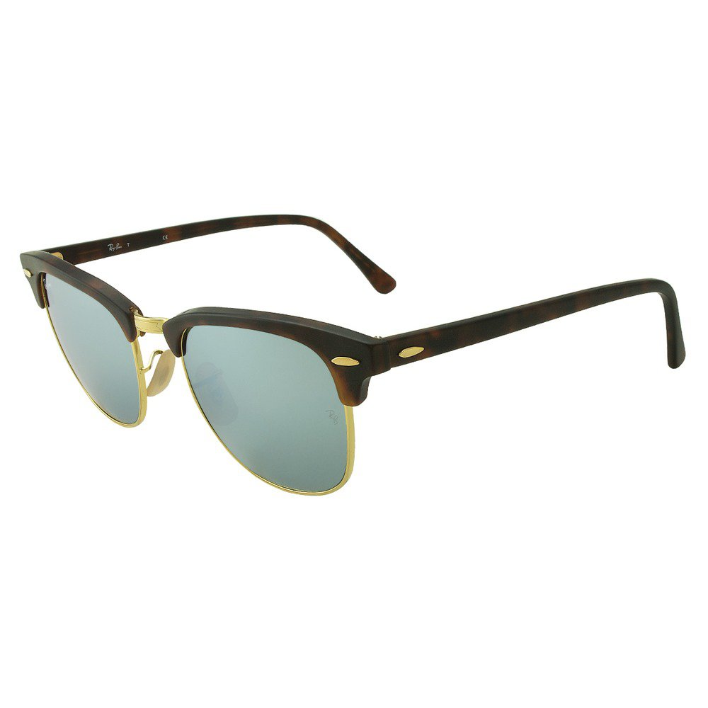Ray-Ban RB3016 114530 51 Clubmaster - Tortoise/Green Mirror,Ray-Ban