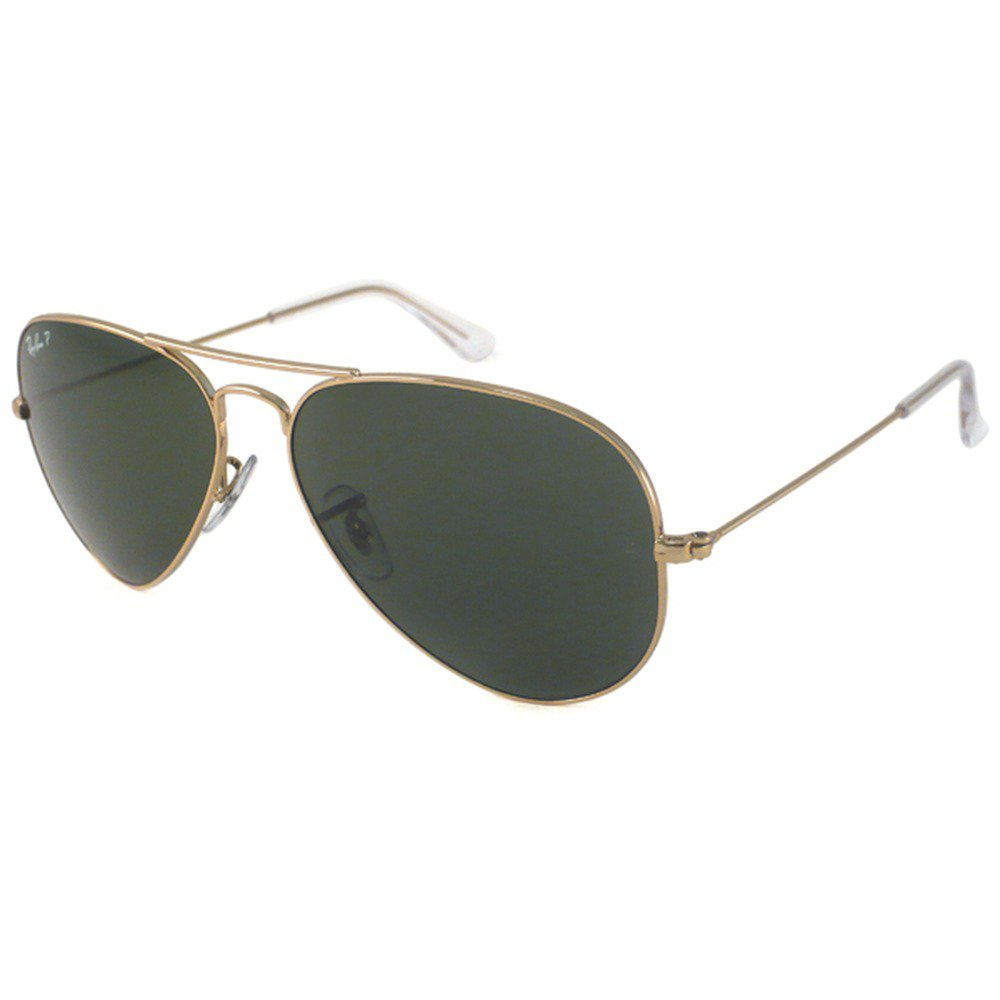 Ray-Ban RB3025L L0205 58 Aviator - Gold/Green G15,Ray-Ban