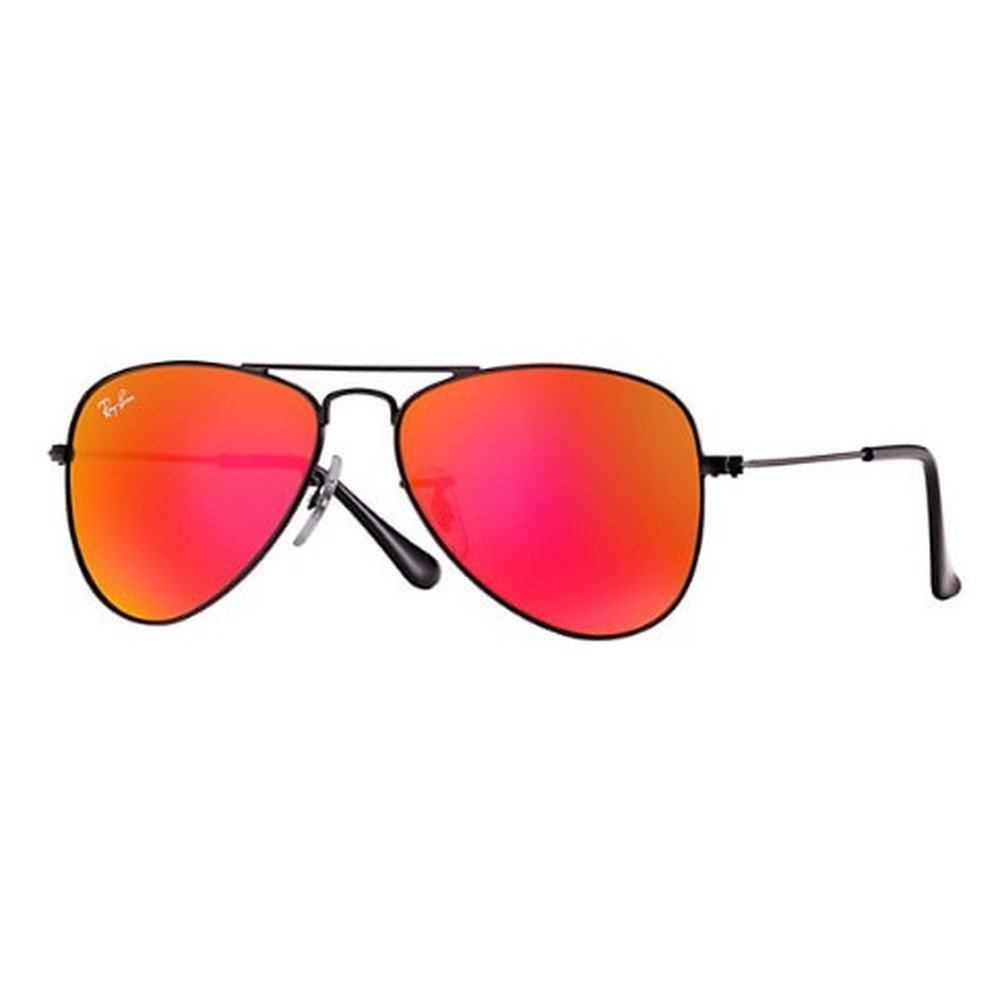 Ray-Ban Junior RJ9506S 201/6Q 50 Aviator - Black/Red Mirror,Ray-Ban
