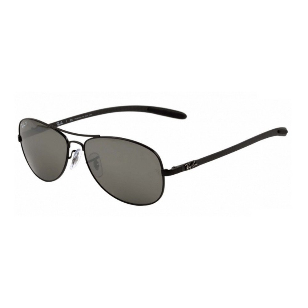 Ray-Ban RB8301 002/K7 59 Aviator Tech Carbon Polarizado,Ray-Ban