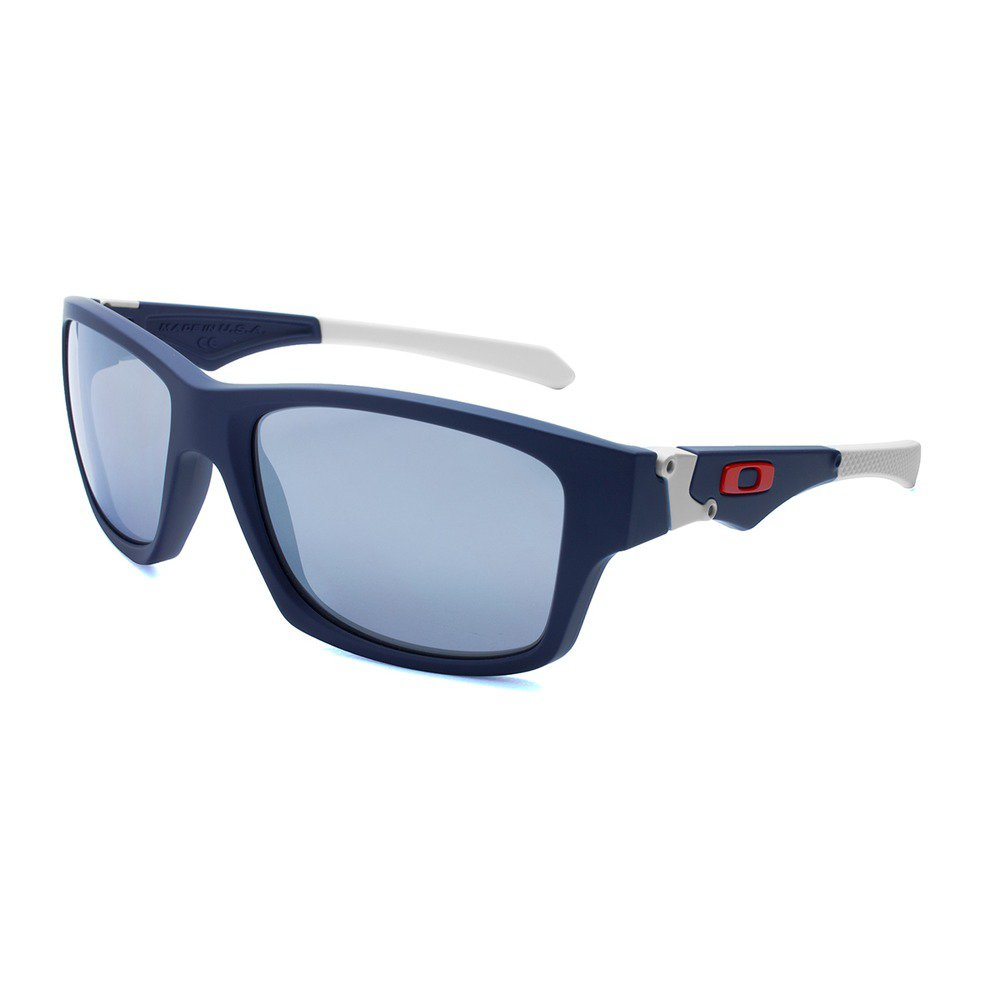 Oakley Jupiter OO913502 5618 - Matte Navy/Chrome Iridium,OAKLEY