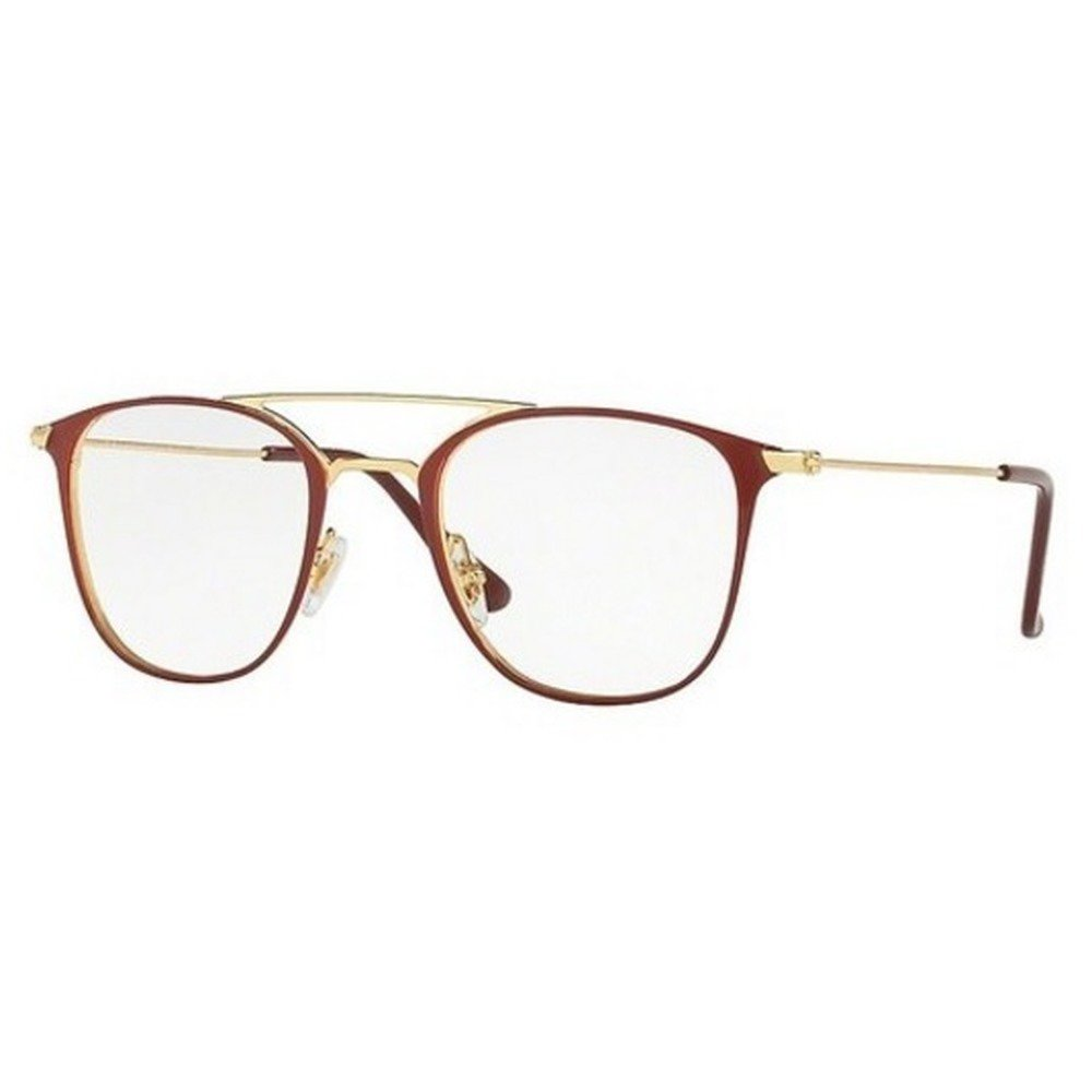 Ray-Ban RB6377 2910 50 - Gold/Shiny Bordeaux,Ray-Ban