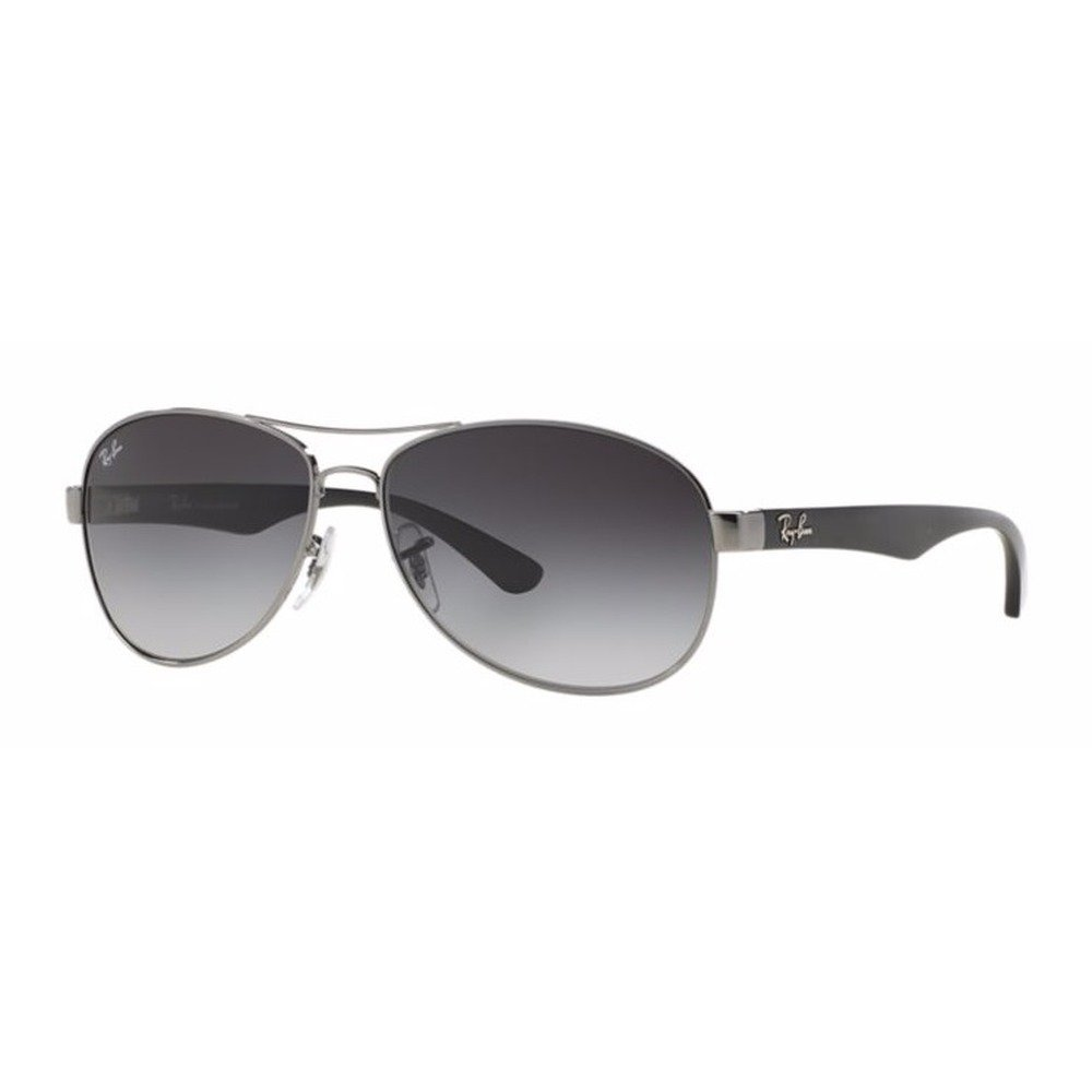 Ray-Ban RB3525L 004/8G 59 Aviator - Black/Gray,Ray-Ban