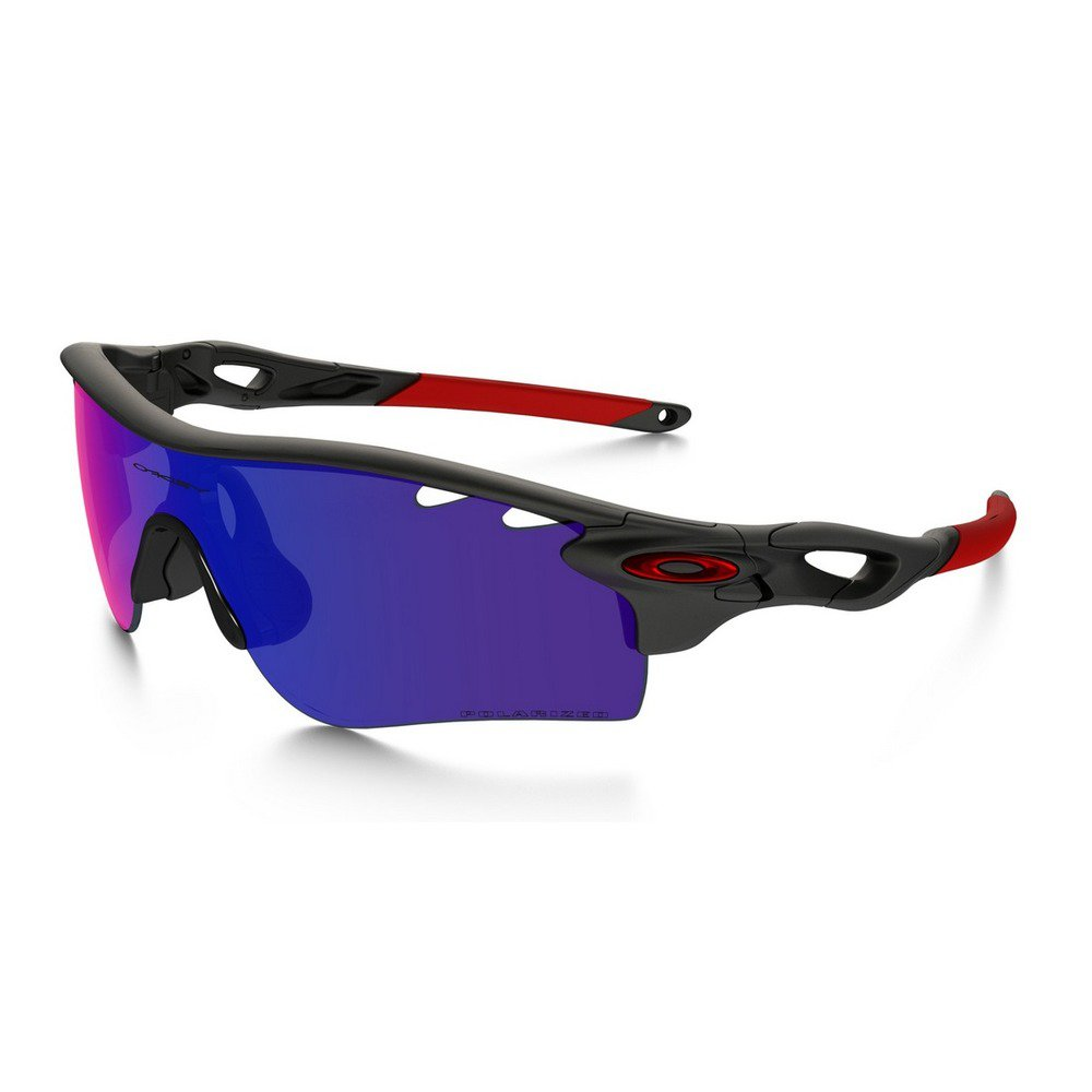 Oakley Radarlock Path OO918123 - Matte Black Ink Red/Iridium Polarized/Black Iridium,OAKLEY