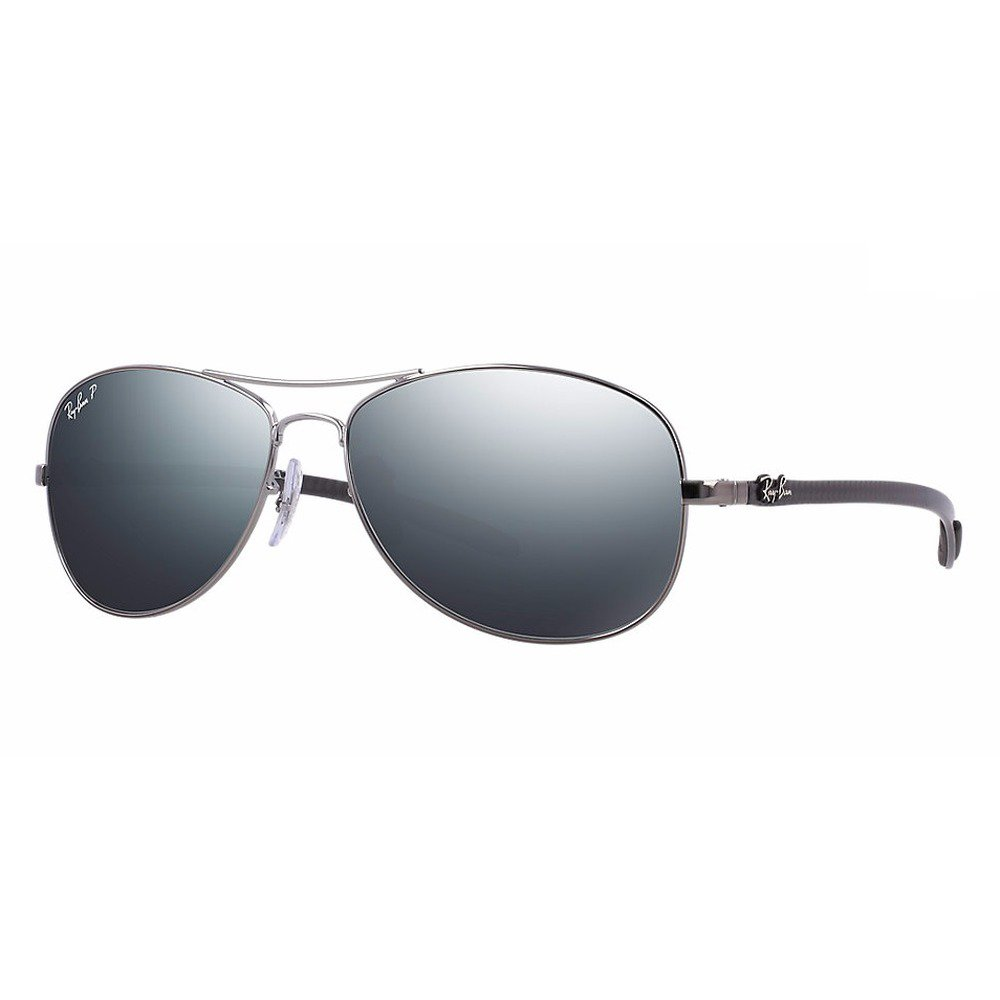 Ray-Ban RB8301 004/K6 59 - Aviator Tech - Carbon Polarizado,Ray-Ban