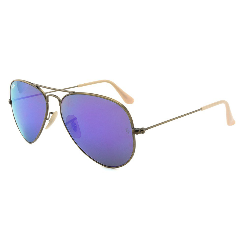Ray-Ban RB3025 167/1M 58 Aviator - Brushed Bronze/Grey Mirror Purple,Ray-Ban
