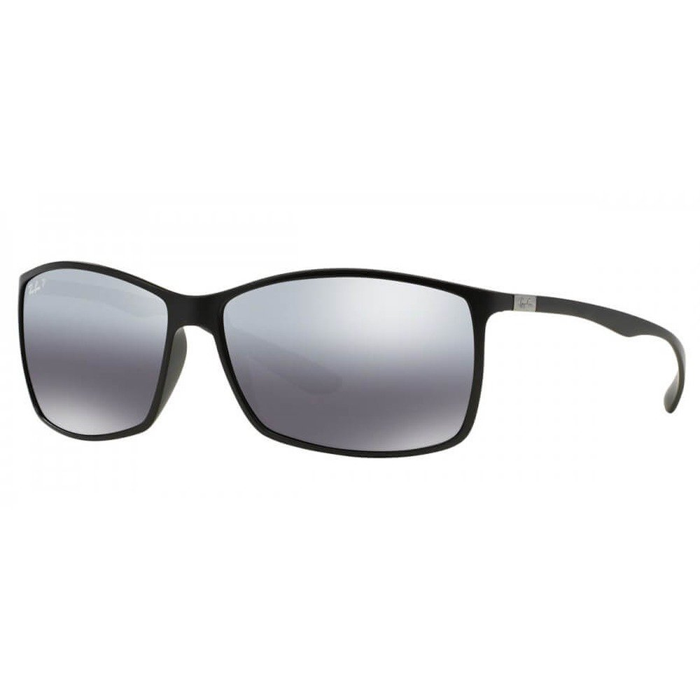 Ray-Ban RB4179 601S82 62 Liteforce Tech - Matte Black/Grey Mirror Silver Polarizado,Ray-Ban