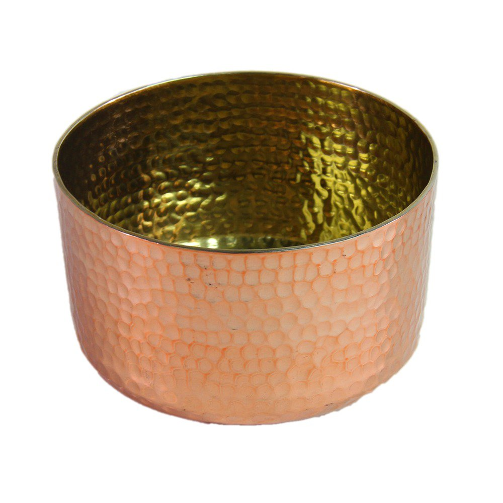 Cache pot rose gold