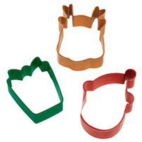 3 Pc. Holiday Cookie Cutter Set - Wilton