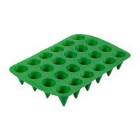 24 Cavity Christmas Cone Bite-Size Silicone Treat Mold - Wilton