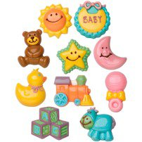 Baby 2-Pack Candy Mold - Wilton