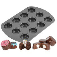 12 Cavity Spool Cakes Mini Cake Pan - Wilton