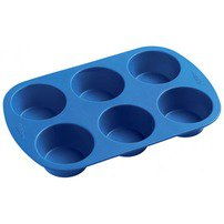 Easy Flex Silicone 6 Cup Muffin Pan - Wilton