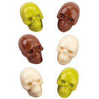 3-D Skull Candy Mold - Wilton