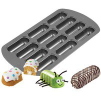 12 Cavity Delectovals Mini Cake Pan - Wilton