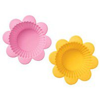 Flower Silicone Baking Cups (6uni) - Wilton