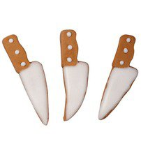 Knife Royal Icing Decorations - Wilton