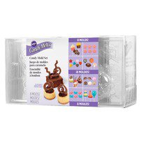 Candy Melts Candy Mold Party Pack - Wilton