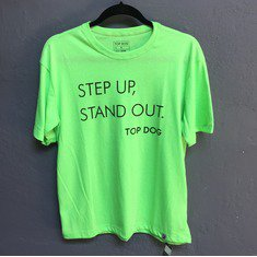Camiseta Step Up Masculina Verde