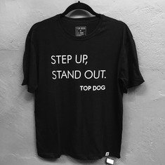 Camiseta Step Up Masculina Preta