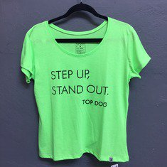 Camiseta Step Up Feminina Verde