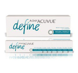 1-Day Acuvue combo 8 caixas Define Sparkle (efeito realce leve)
