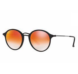 Ray-Ban RB2447 901/4W 49 Round Fleck - Flash Lenses Gradient
