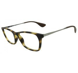 Ray-Ban RB7053L 5365 54 Tartaruga/Marrom - Highstreet