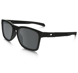 Oakley Catalyst OO927209 5617 - Matte Black/Black Iridium Polarized