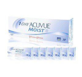 1-Day Acuvue Moist  Combo 8 Caixas