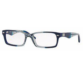 Ray-Ban RB5206 5516 52 Azul/Cinza Gradiente - Highstreet