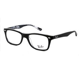Ray-Ban RB5228 5405 53 Highstreet - Preto