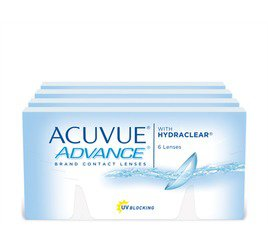 Acuvue Advance Combo 4 Caixas