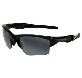 Oakley Half Jacket OO915401 - Polished Black/Black Iridium