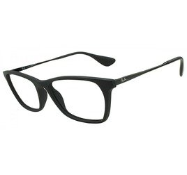 Ray-Ban RB7053L 5364 54 Preto Fosco - Highstreet
