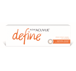 1-Day Acuvue Define Natural Shine (efeito realce forte)