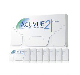 ACUVUE 2 Combo 8 CAIXAS