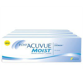 1-Day Acuvue Moist Combo 4 Caixas