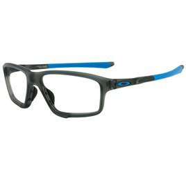 Oakley Crosslink Zero OX8076 0158 - Satin Grey Smoke